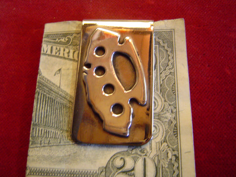 Money Clip: Sterling California Knuckles