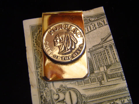 Money Clip: Pontaic in Sterling