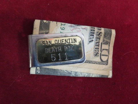 Money Clip: San Quentin Death Row