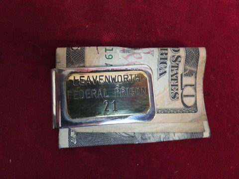 Money Clip: Leavenworth Federal Prison
