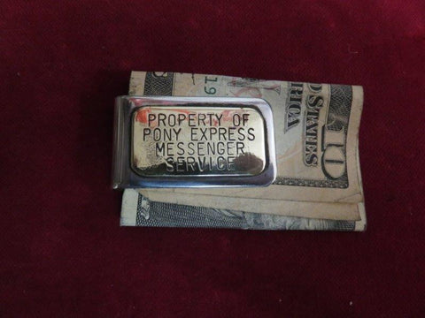 Money Clip: Pony Express