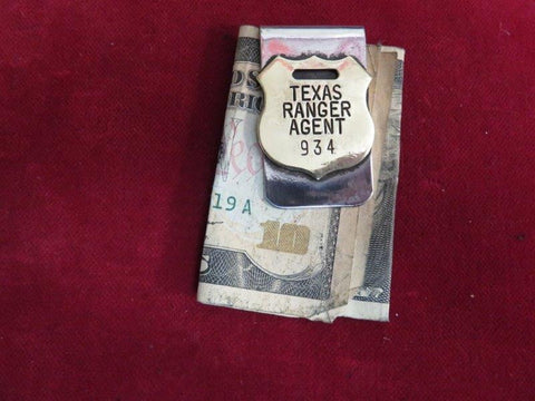 Money Clip: Texas Ranger Agent