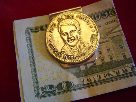 Money Clip: Elvis token