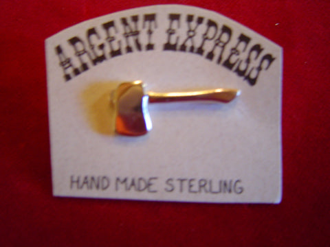 Pin: Hatchet, Sterling