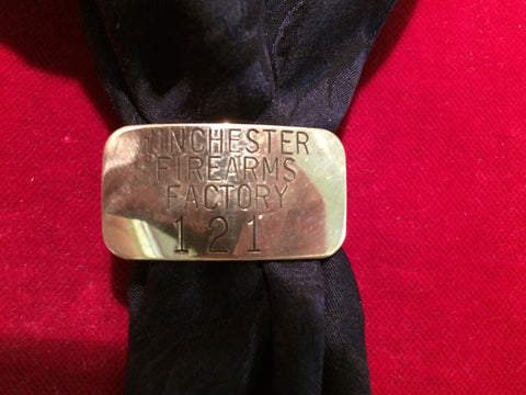 Scarf Slide: Brass, Winchester Firearms Factory
