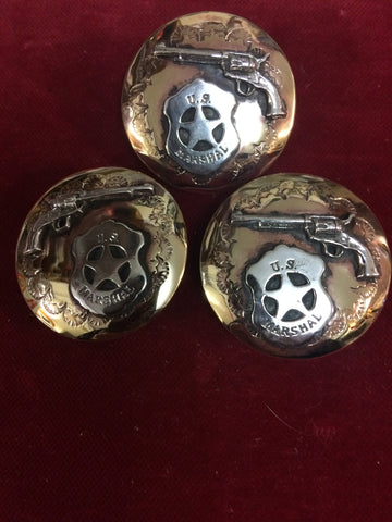 Slide and Conchos Set: U.S. Marshal & Six Gun