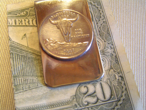 Money Clip: Montana State Quarter