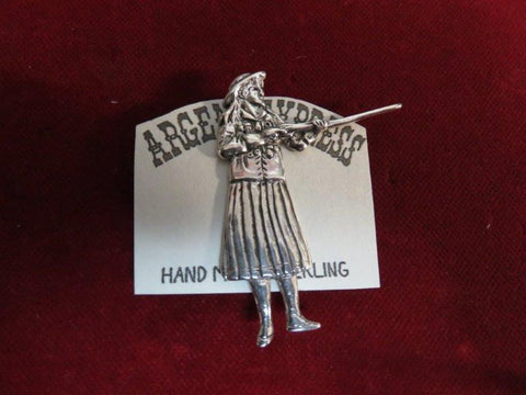 Pin: Annie Oakley sterling