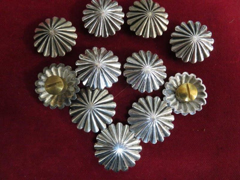 "Conchos: Sterling 1"" Fluted"