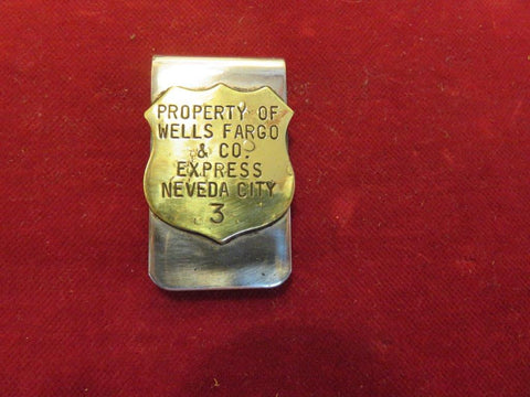 Money Clip: Wells Fargo, Nevada City