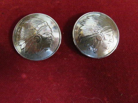 Conchos: Sterling Round Chief