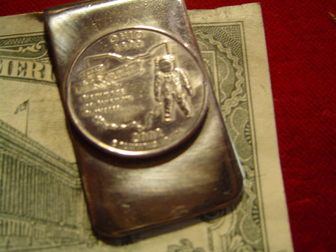 Money Clip: Ohio State Quarter