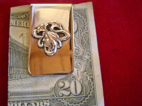 Money Clip: Deco Girl