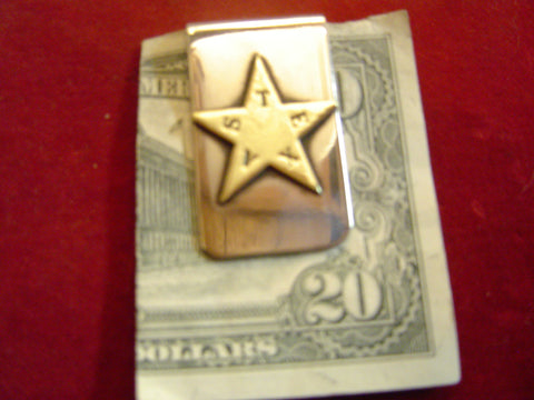 Money Clip: Texas Civil War Star
