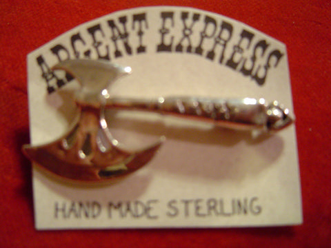 Pin: Battle Axe, Sterling