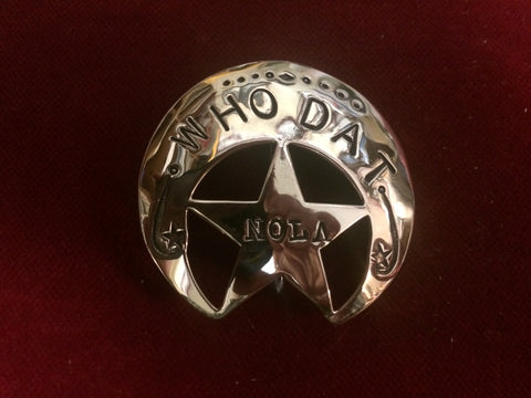 Brass Badge: Who Dat, NOLA