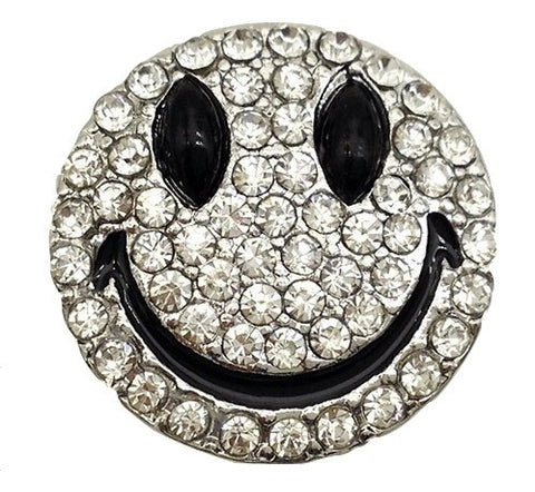 Diva Dot, Happy Face Rhinestones