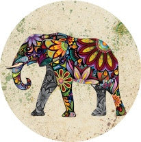Diva Dot, Color Elephant, Glass
