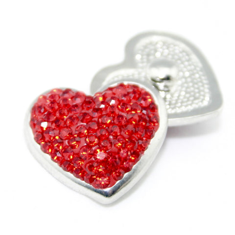 Diva Dot, Heart Shaped Red Bling