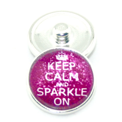 Diva Dot, Keep Calm and Sparkle on, Glass