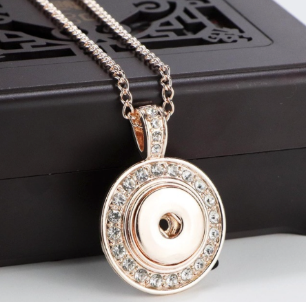 Necklace, Rose Gold
