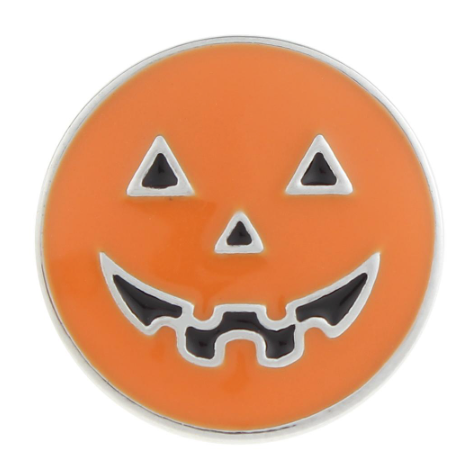 Diva Dot Snap Button, Pumpkin