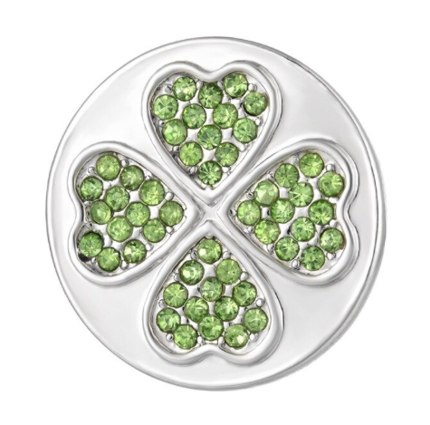 Diva Dot Snap Button, Clover
