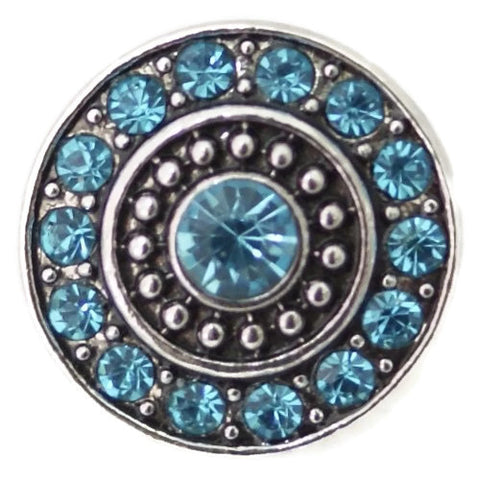 Diva Dot, Blue Decorative Crystals