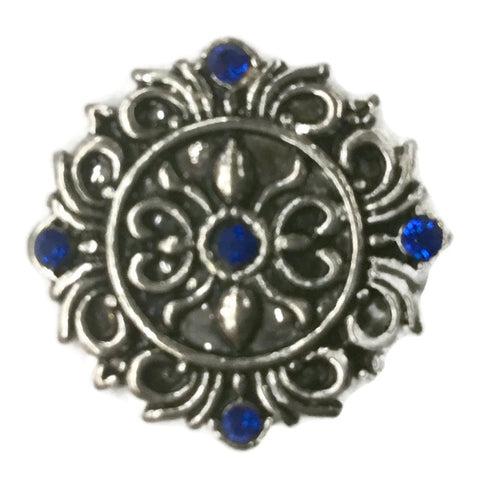 Diva Dot, Decorative with Blue Crystals