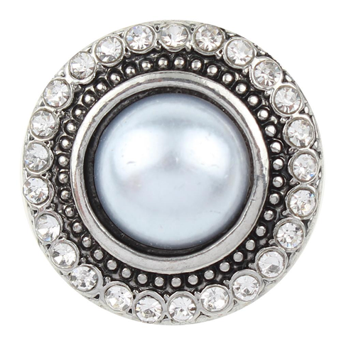 Diva Dots, Faux Pearl with Crystals