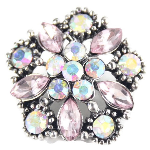 Diva Dot Snap Button, Crystals
