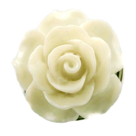 Diva Dot, 3-D White Rose