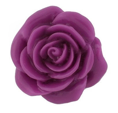 Diva Dot, 3-D Flower, Purple