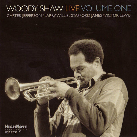 Woody Shaw Live: Volume 1 (CD)