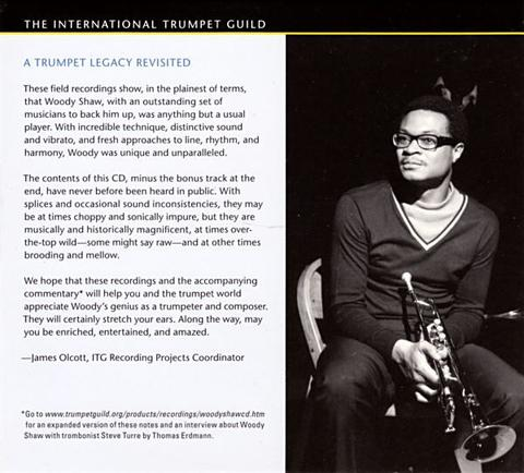 Woody Shaw Live: International Trumpet Guild (Compilation CD)
