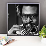 "Woody Shaw Framed Session Photo - ""Rosewood"" (Columbia Records 1978) (F)"
