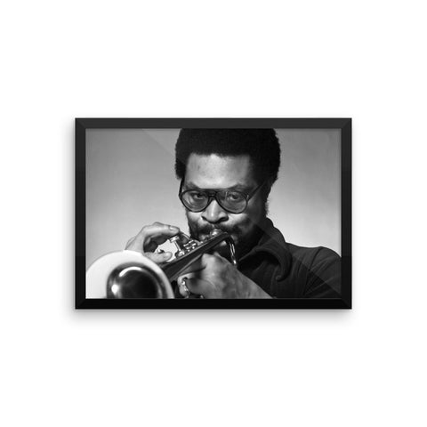 Woody Shaw Framed Publicity Photo (Columbia Records 1978) (D) – The ...