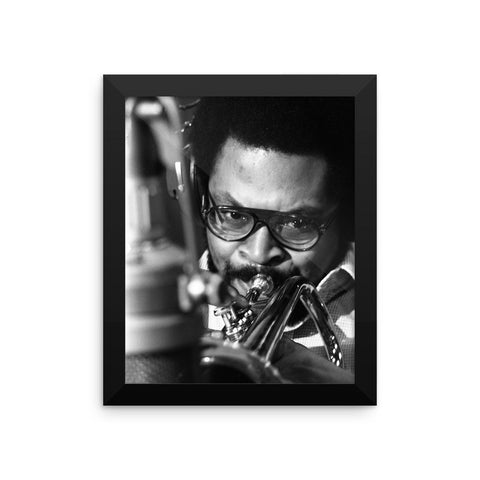 "Woody Shaw Framed Session Photo - ""Rosewood"" (Columbia Records 1978) (G)"