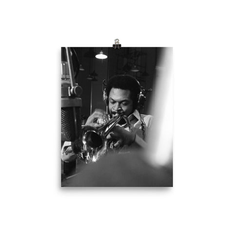"Woody Shaw Session Photo - ""Rosewood"" (Columbia Records 1978) (B)"