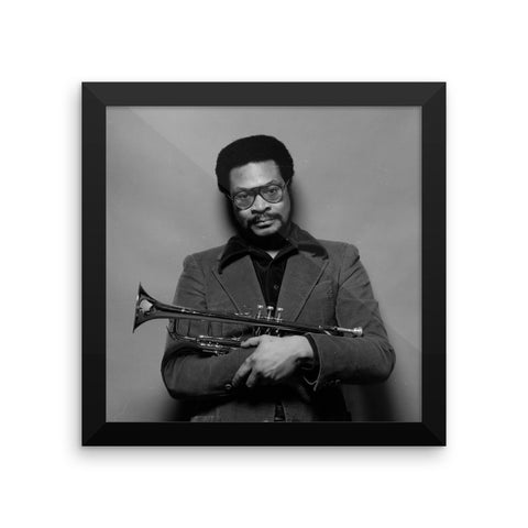 Woody Shaw Framed Publicity Photo (Columbia Records 1978)