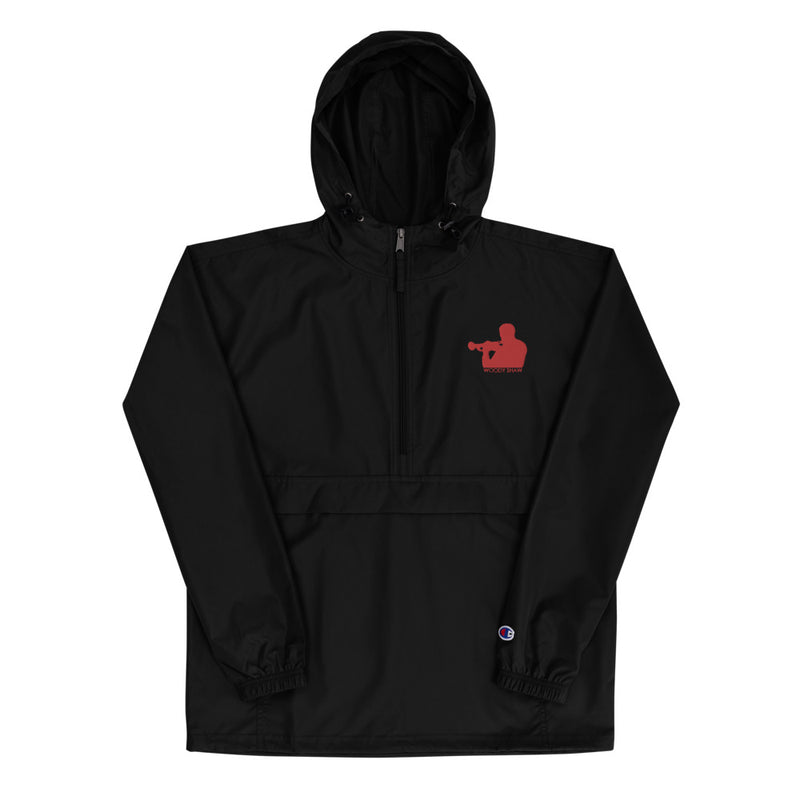 Woody Shaw Logo Windbreaker Jacket (Red Icon)