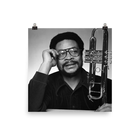 Woody Shaw Publicity Photo (Columbia Records 1978) (A)