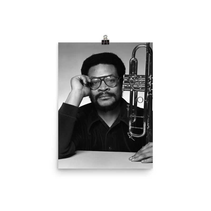 Woody Shaw Publicity Photo (Columbia Records 1978) (C)