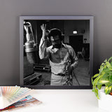 "Woody Shaw Framed Session Photo - ""Rosewood"" (Columbia Records 1978) (E)"