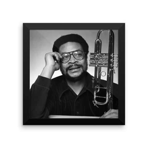 Woody Shaw Framed Publicity Photo (Columbia Records 1978) (A)