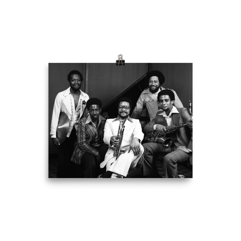 "Woody Shaw Quintet Session Photo - ""Stepping Stones"" (Columbia Records 1978)"