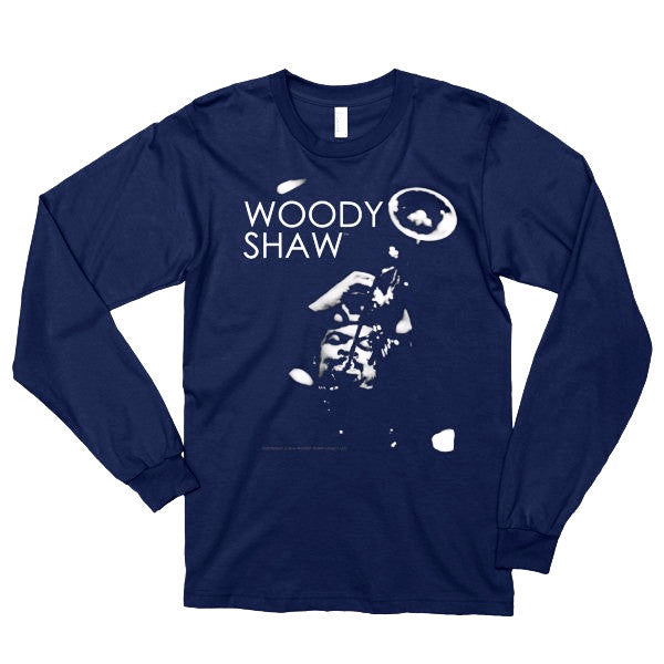 Woody Shaw 'Iconic Trumpeter' Long Sleeve Shirt