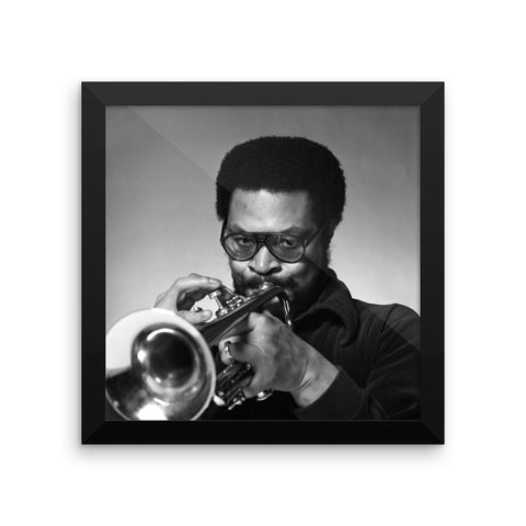 Woody Shaw Framed Publicity Photo (Columbia Records 1978) (D)
