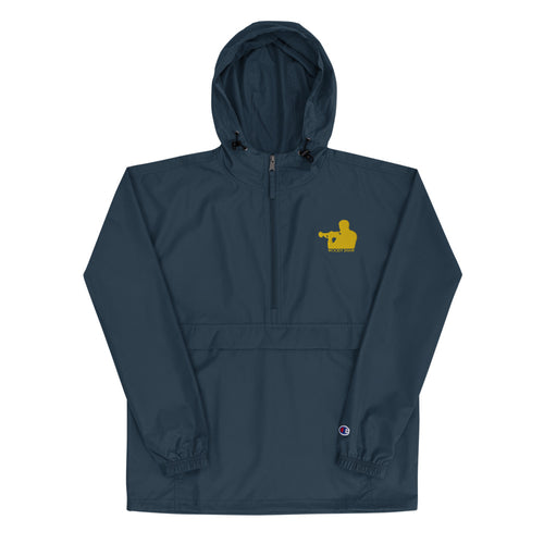 Woody Shaw Logo Windbreaker Jacket (Yellow Icon)