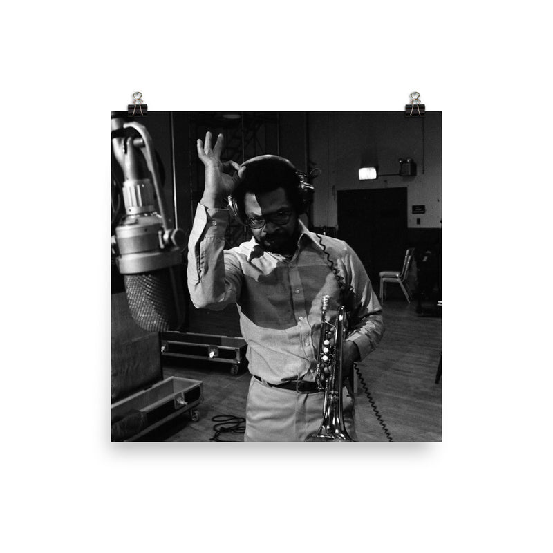 "Woody Shaw Session Photo - ""Rosewood"" (Columbia Records 1978) (E)"